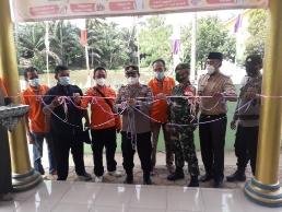 17 Kampung di Kecamatan Kalirejo Resmi jadi Kampung  Tangguh Nusantara Covid-19