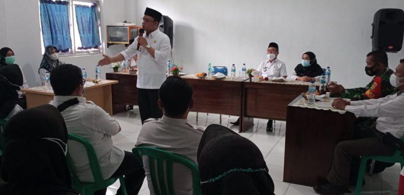 Motivasi Nakes, Wabup Lamteng Kunjungi Dua Puskesmas di Trimurjo