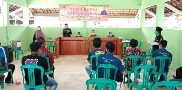 Karang Taruna Kecamatan Trimurjo Gelar Temu Karya