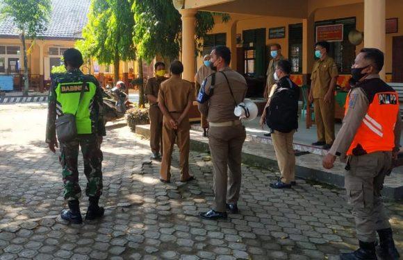 Sidak ke Sekolah, Satgas Covid-19 Rumbia Temukan Pelanggaran Prokes