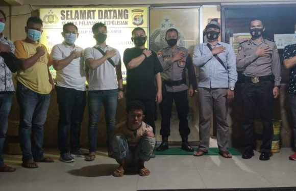 Jambret di Jalinsum Yukumjaya Dibekuk Anggota Polsek Terbanggibesar