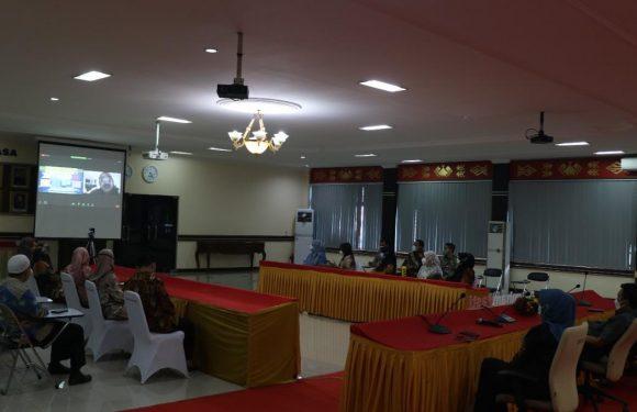 Kanwil Lampung Ikuti Rapat Persamaan Persepsi Tindaklanjut PermenPAN RB No. 8 Tahun 2021