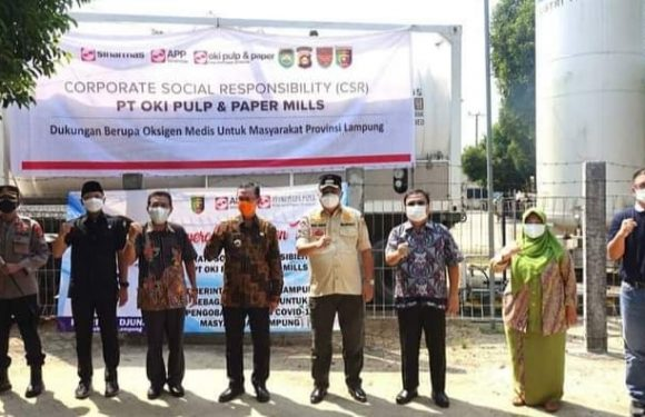 RS YMC Lamteng Terima Bantuan 4 Ton Liquid dari Pemerintah Provinsi Lampung