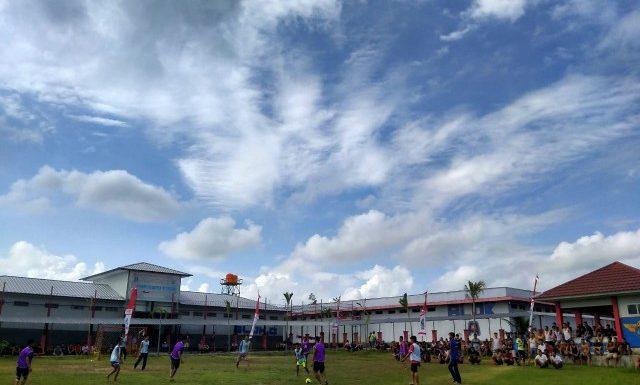Agustus Berkah, Lapas Kelas IIB Way Kanan Adakan Turnamen Futsal dan Perlombaan