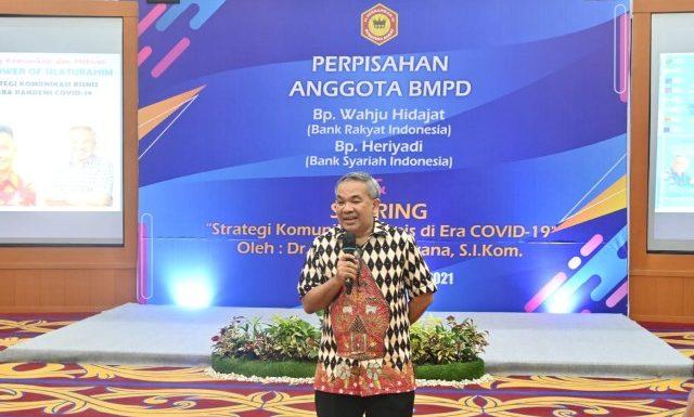Dr Aqua Dwipayana Sebut Ada Tiga Kelemahan Pegawai Garda Depan di Perbankan