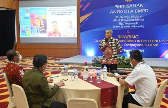 Tips Sukses Usaha Dr Aqua Dwipayana; Diawali Membangun Jejaring
