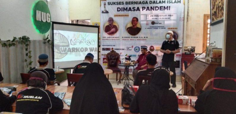 Perdana, Komuslam Sukses Gelar Seminar Bisnis