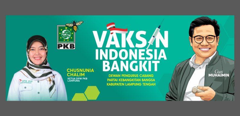PKB Lamteng akan Gelar Vaksinasi Indonesia Bangkit di Ponpes Assyifa Bumikencana