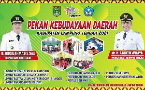 Yuk, Ikuti Pekan Kebudayaan Daerah Kabupaten Lamteng