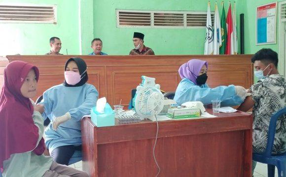 Vaksinasi Covid-19 di Kampung Bumirahayu Capai 90 Persen