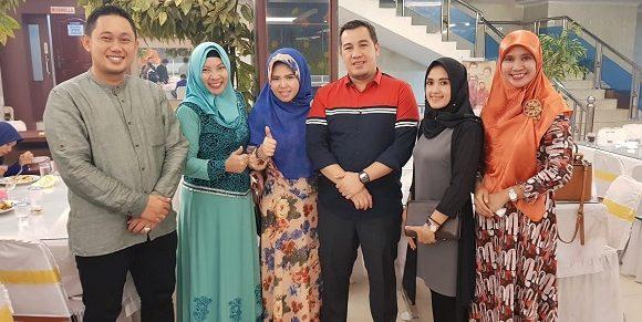 Karang Taruna Kabupaten Lamteng Hadiri Acara Halal Bihalal Tingkat Provinsi