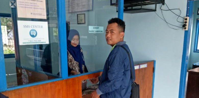 Kian Mudah, Loket Bank Lampung Standby di Unit PKB Dishub Lamteng