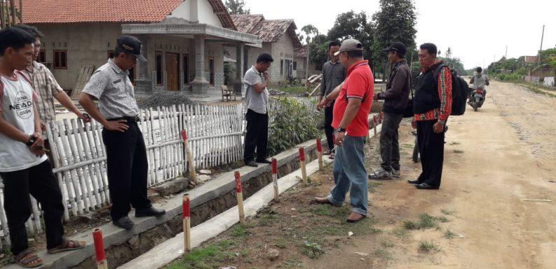 Camat Anaktuha Monitoring Pembangunan ADD Tahun 2018