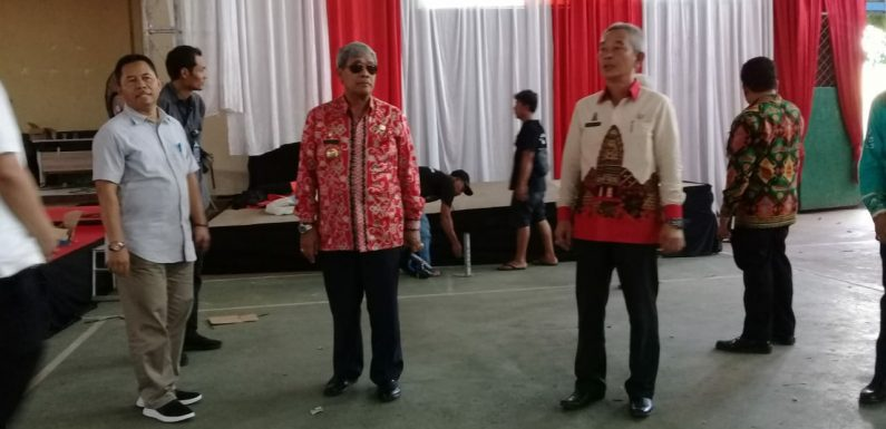 Bupati Himbau Warga Lamteng Jaga Kondusif Acara Kunjungan Presiden Jokowi