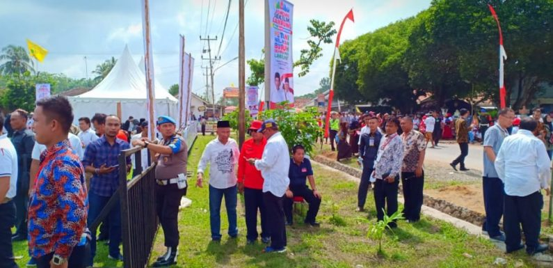 Petani, Nelayan dan Buruh Se-Lampung Deklarasi Dukung Jokowi