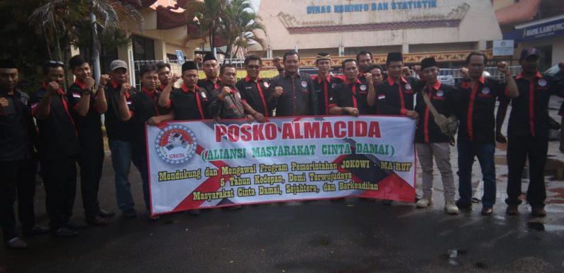 Almacida Siap Kawal Program Jokowi di Lampung