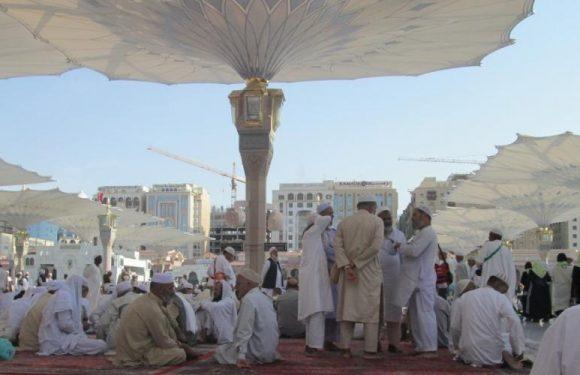 Jamaah asal Lamteng Lakukan Arbain di Madinah