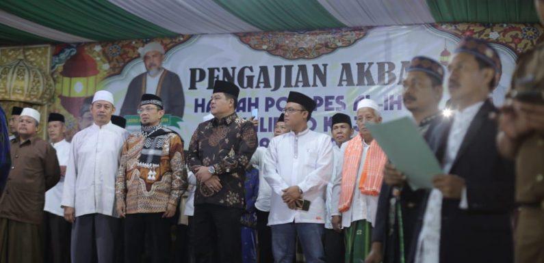 Hadiri Harlah Ponpes Al-Ihya Kalirejo, Musa Ahmad Nyatakan Maju di Pilbup Lamteng