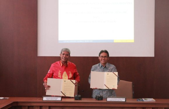 Jalani MoU Dengan UGM, Bahas Potensi Muara Cabang Sampai Kuliah Tanpa Tes di UGM Jogjakarta