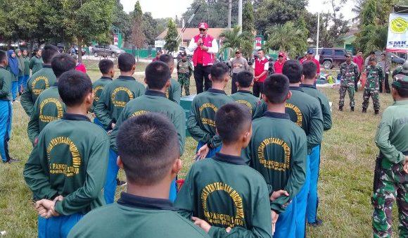 Tingkatkan Disiplin Siswa, SMK Pangudi Luhur Libatkan Anggota TNI Laksanakan PPDS