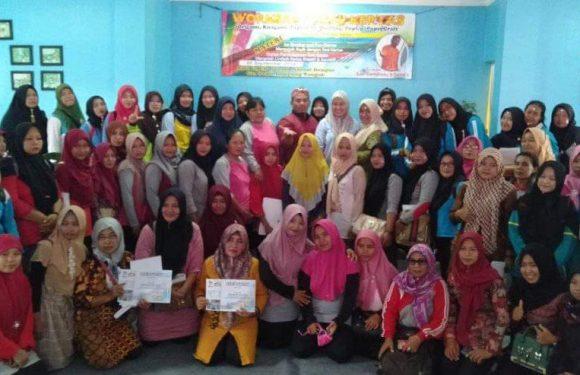 Tingkatkan Kualitas Tenaga Pendidik, Himpaudi Lamteng Gelar Workshop Seni Kertas