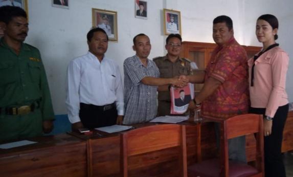 Ketua Pecalang Lamteng Nyalon Kakam Rama Indra
