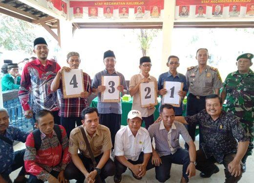Kecamatan Kalirejo Nomor Urut Calon Kakam Diundi Serentak