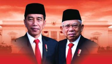 Jokowi-Ma'ruf Resmi Presiden-Wapres RI Periode 2019-2024