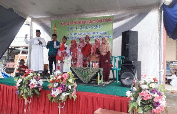 YPI Cinta Illahi Peringati Maulid Nabi dengan Tampilan Kreasi Siswa
