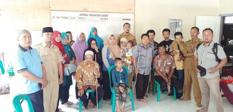 Peringatan Hari Disabilitas Internasional  Camat Kalirejo Terima Kunjungan Para Penyandang Disabilitas