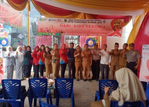 Peringati Hari HIV/AIDS Sedunia, Chandra Superstore Bandarjaya Gelar Tes Darah Gratis