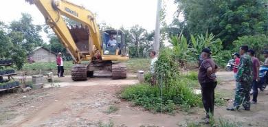 Bupati Turunkan Alat Berat, Banjir di Sukajawa Mulai Surut