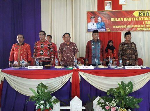 Kampung Variaagung Wakili Kecamatan Seputihmataram Lomba BBGRM