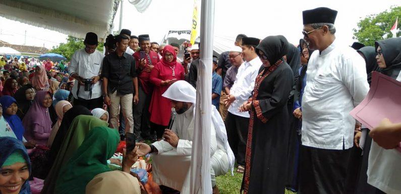 Ribuan Jamaah Ramaikan Tabligh Akbar Syekh Muhammad Jaber di Punggur