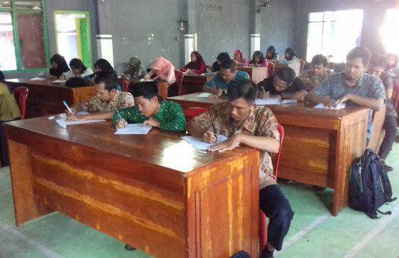 Seleksi Perangkat Kampung Tempuran, Diikuti 27  Peserta