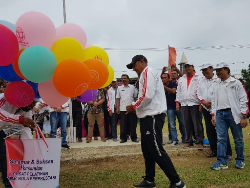 RD Resmikan PPSBB Punggur United