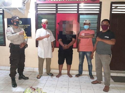 Residivis Narkoba Ditangkap Polsek Trimurjo