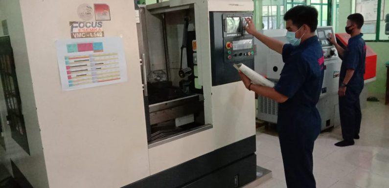 Ketua MKKS SMK Lamteng Ali Rosad S.Pd : Jelang Uji Kompetensi, Tahap Praktek Mulai Dilaksanakan