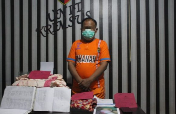 Sat Reskrim Polres Tubaba Amankan Oknum Anggota DPRD