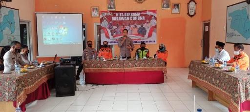 Wakili Kapolres, Kasat Binmas Polres Lamteng Launching KTN di Kampung Tanggul Angin