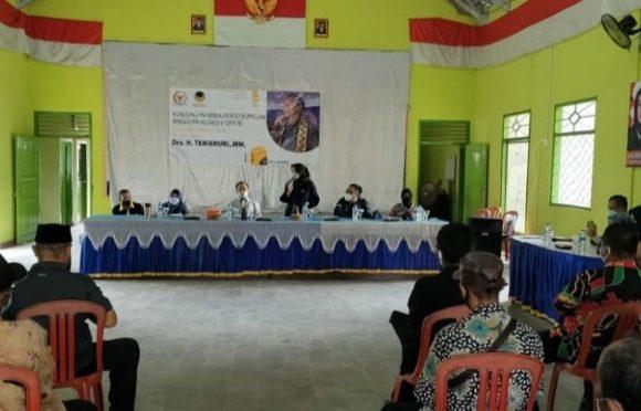Reses di Lampung Tengah, Tamanuri Serap Aspirasi Pembangunan Infrastruktur