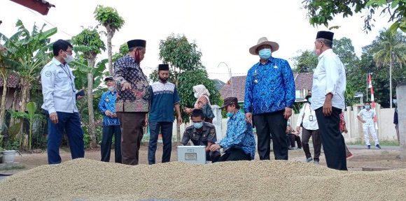 Ketua DPRD Lamteng Dampingi Tim Kementan Pantau Harga Gabah di Trimurjo