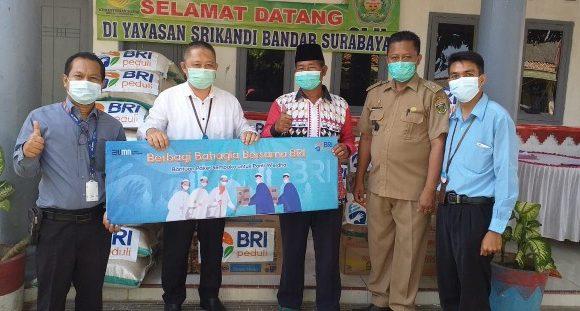 Berbagi Bahagia Bersama BRI Bandarjaya, Salurkan Paket Sembako ke Panti Asuhan dan Panti Werdha