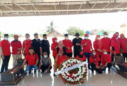 Peringatan Harlah Bung Karno, PDI Perjuangan Lamteng Doa Bersama  dan Tabur Bunga