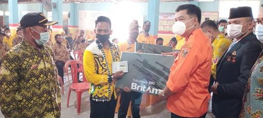 "Usai Launching ""Bunga Kampung"", Bupati Lamteng Bertemu Aparatur Kampung dan Korcam PKH"