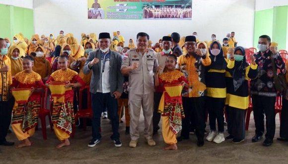 Bupati Musa Ahmad Beri Semangat Tenaga Didik di Trimurjo