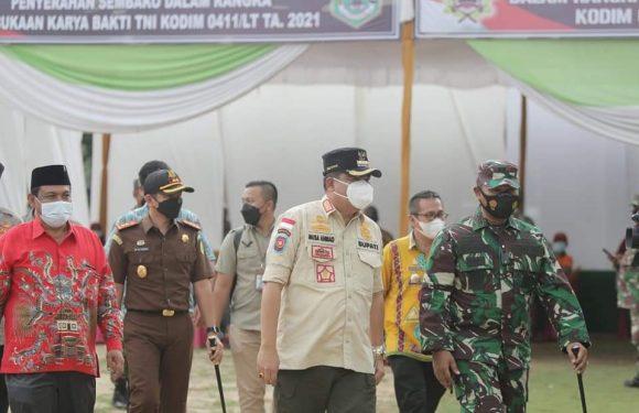 Camat Terbanggibesar Ucapkan Terimakasih atas Terlaksananya Karya Bhakti TNI di Wilayahnya