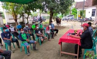 Reses di Lampung Tengah, I Komang Koheri Serap Aspirasi hingga Serahkan Hewan Kurban
